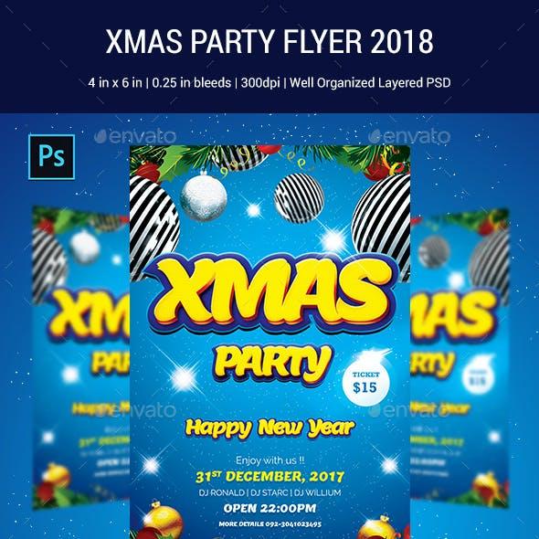 XMAS PARTY FLYER 2018
