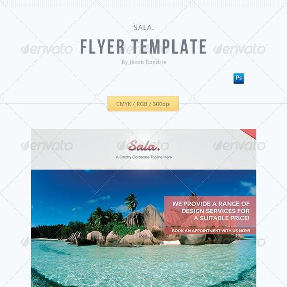 Sala. - A Corporate Flyer Template!