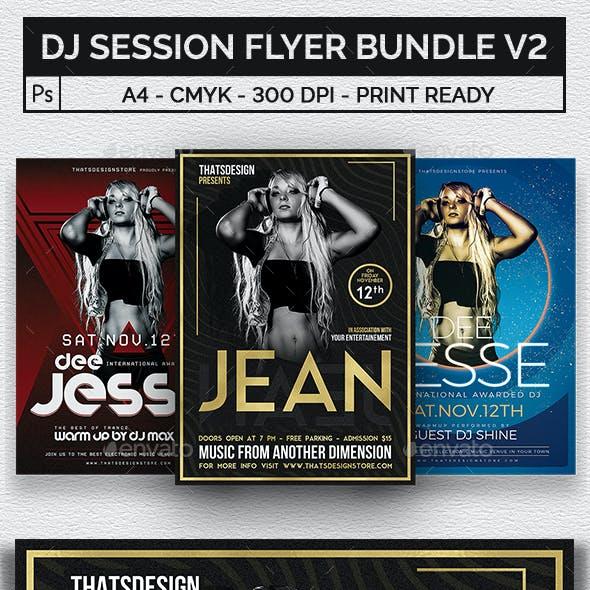 DJ Session Flyer Bundle V2