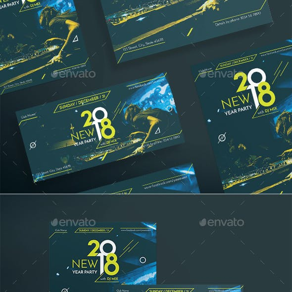 New Year Party Flyers