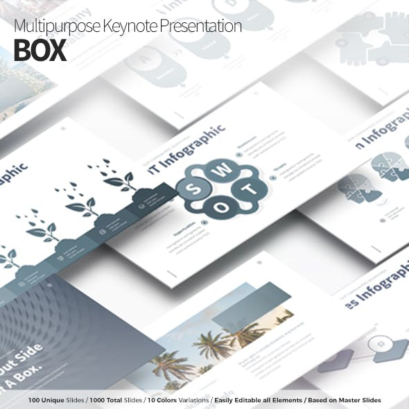 BOX - Multipurpose Keynote Presentation Template