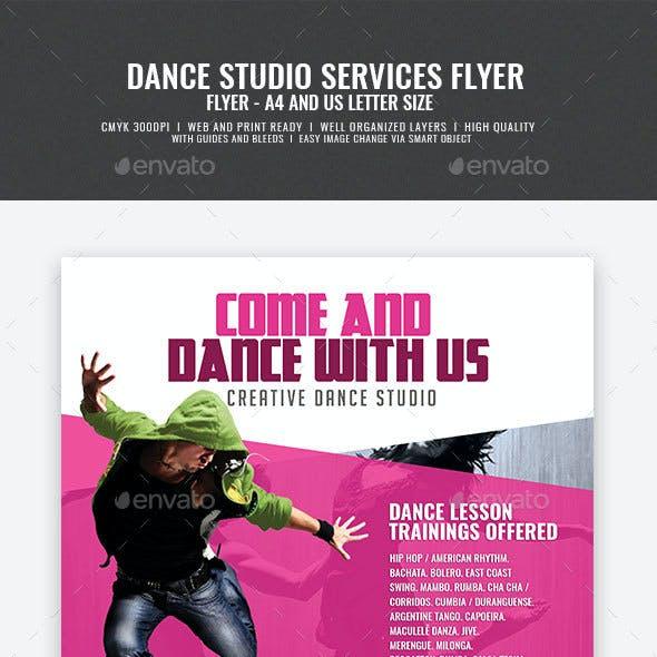 Dance Studio Promotion