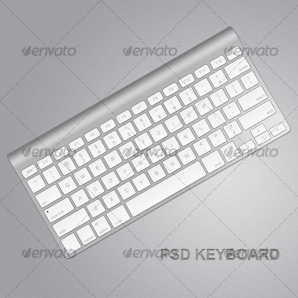 Small Keyboard  - Objects Illustrations