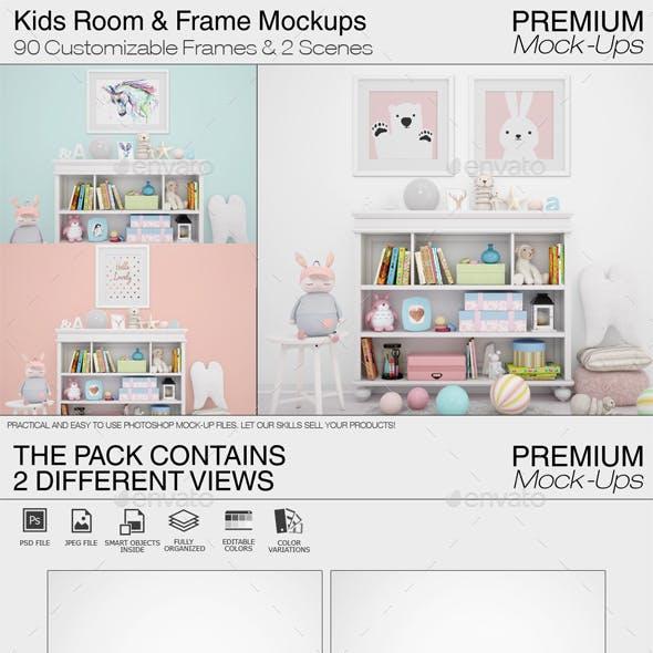 Kids Room & Frames Pack