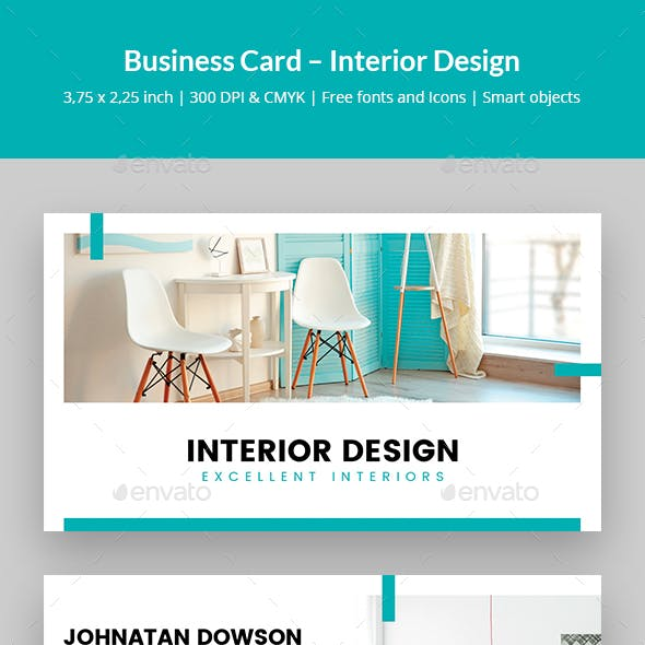 Furniture Business Card Templates Designs From Graphicriver