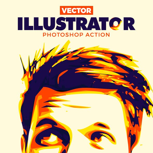 Vector Illustrator Photoshop Action