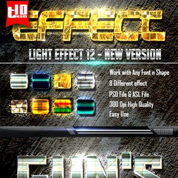 Light Text Effect 12
