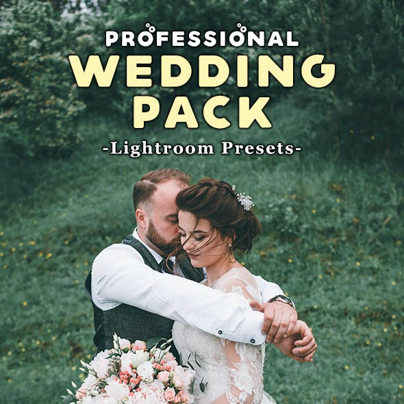 Wedding Pack 18 Professional Lightroom Presets