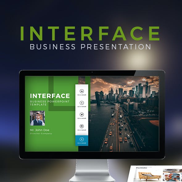 Interface Powerpoint Template