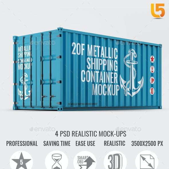 Shipping Container Mock-Up