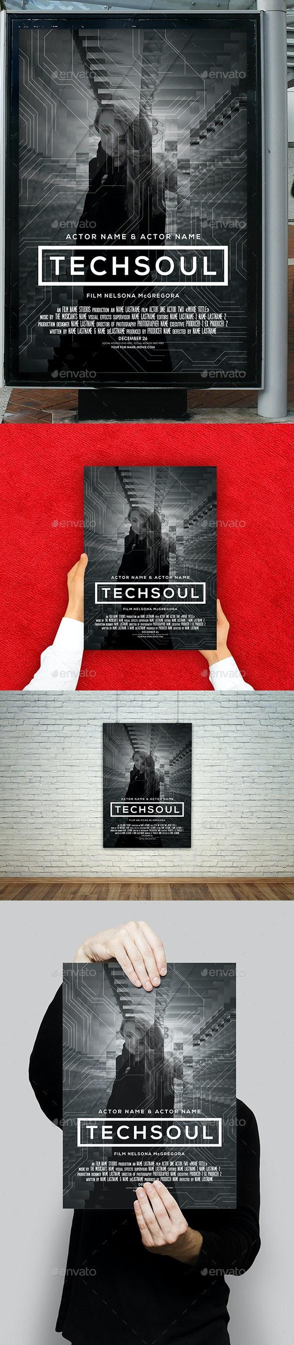 Tech Soul Film Movie Poster - Miscellaneous Events