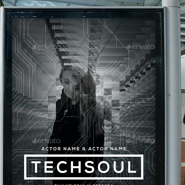 Tech Soul Film Movie Poster