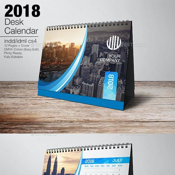 Desk Calendar 2018 v2