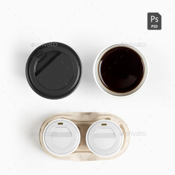 Coffee top Isolated