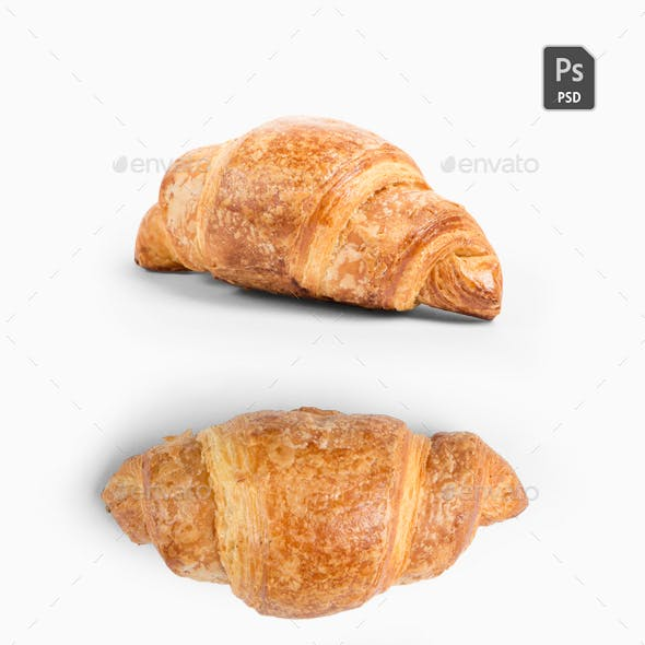 Croissant Isolated