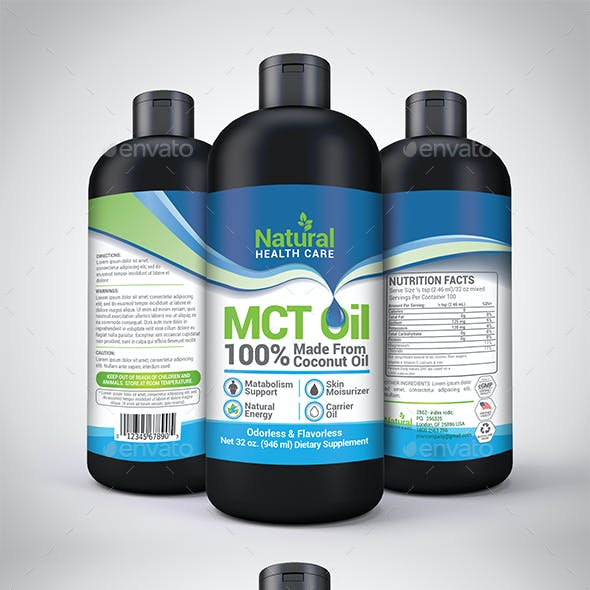 MCT Coconut Oil Template