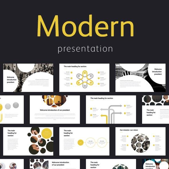 Modern Elegant Professional Google Slide