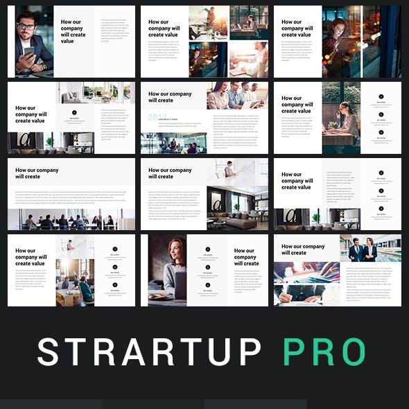Startup Pro + Google Slide Template