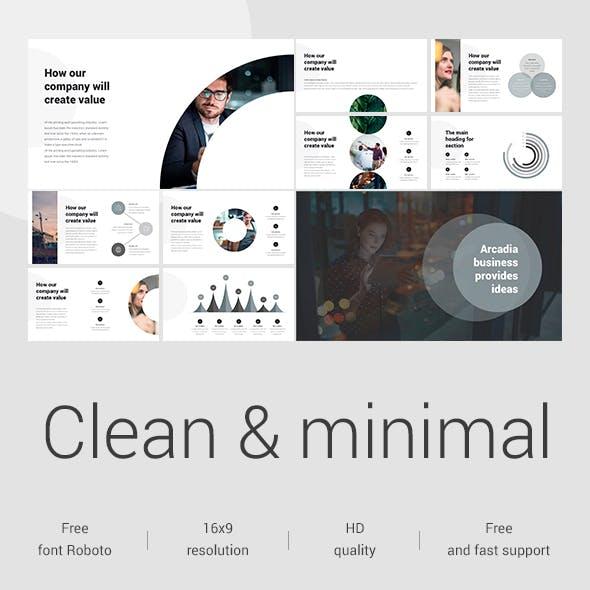 Clean Google Slide