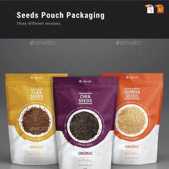 Seeds Pouch Packaging