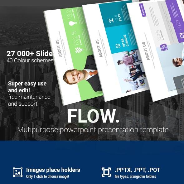 Flow Powerpoint Presentation Template