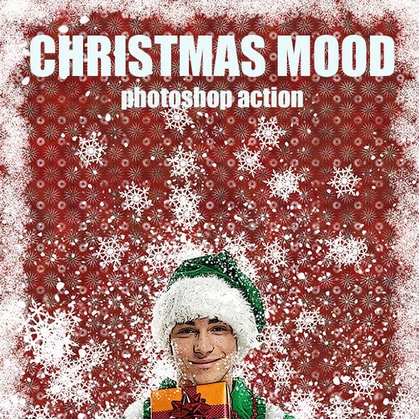 Christmas mood Photoshop Action