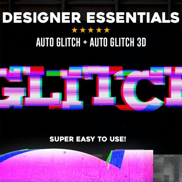 Auto Glitch + Auto Glitch 3D