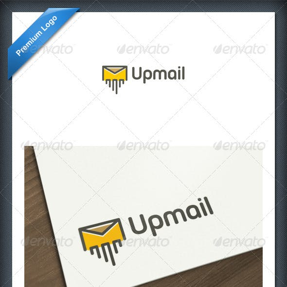 Up Mail Logo Template