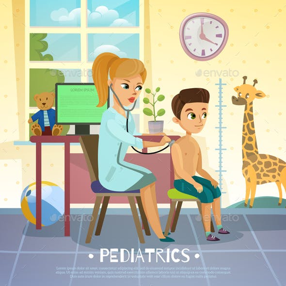 Pediatric Department Illustration