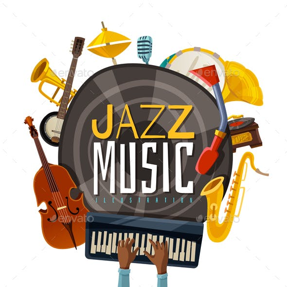 Jazz Music Illustration
