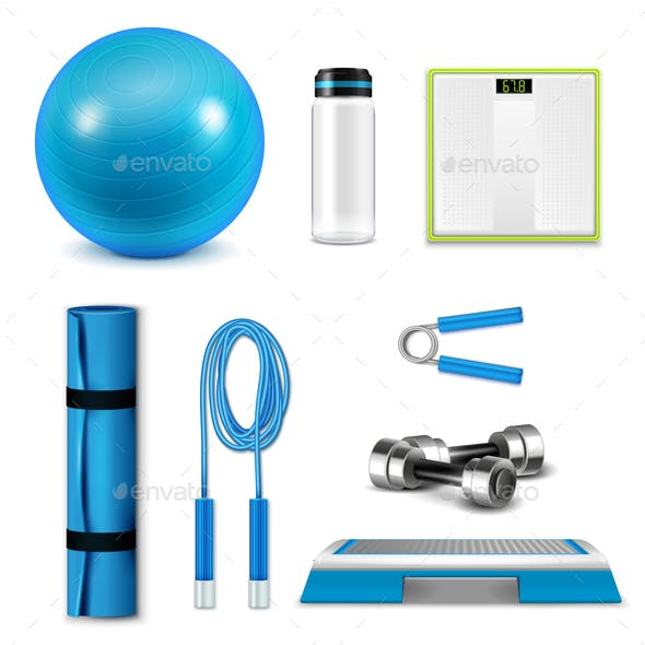 Fitness Realistic Set