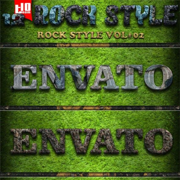 12 Rock Text Effect 02