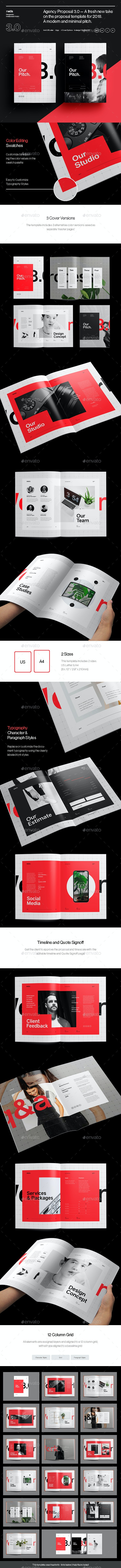 Agency Proposal 3.0 - Corporate Brochures