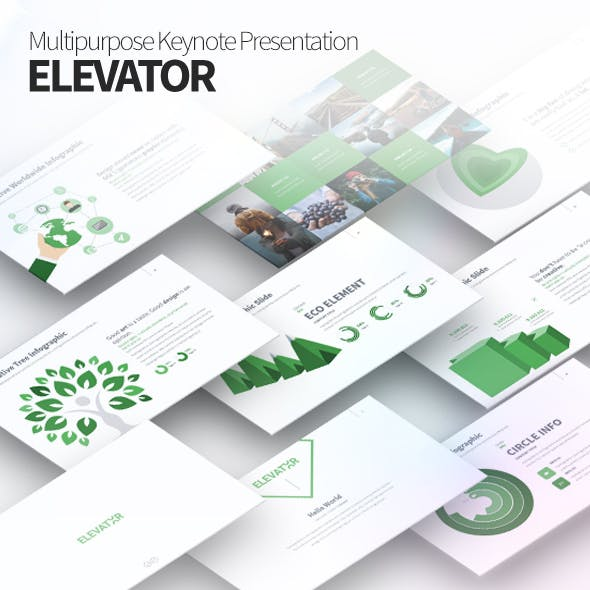 Elevator - Multipurpose Keynote Presentation Template