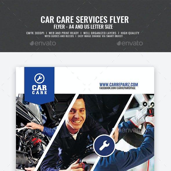Car Repair and Maintenance Flyer