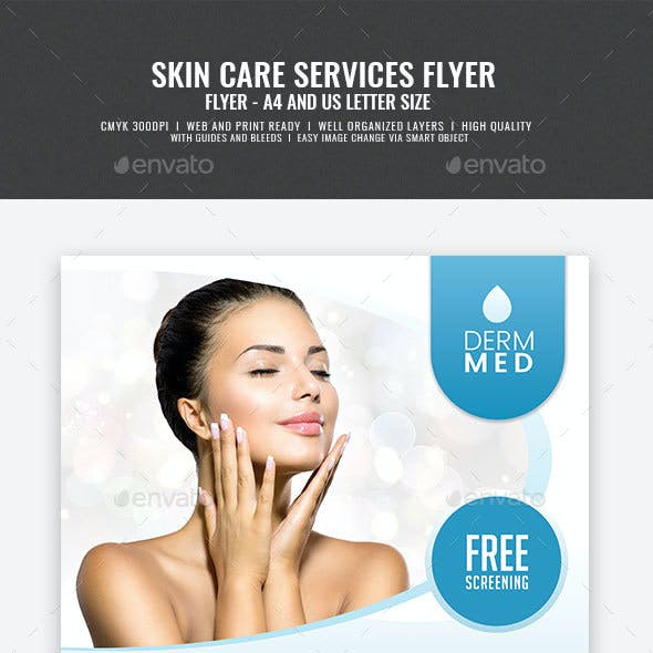 Dermatology Services Flyer