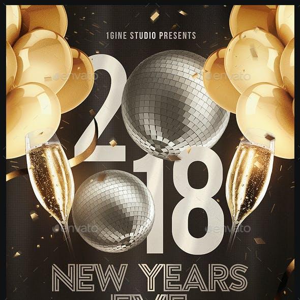 NYE Party Flyer Template v2