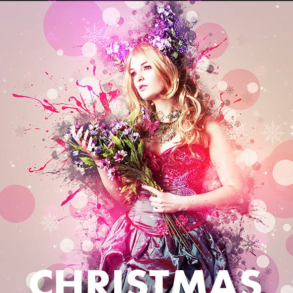 Christmas Art Photoshop Action