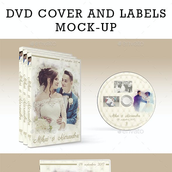 Dvd Case Mock-up