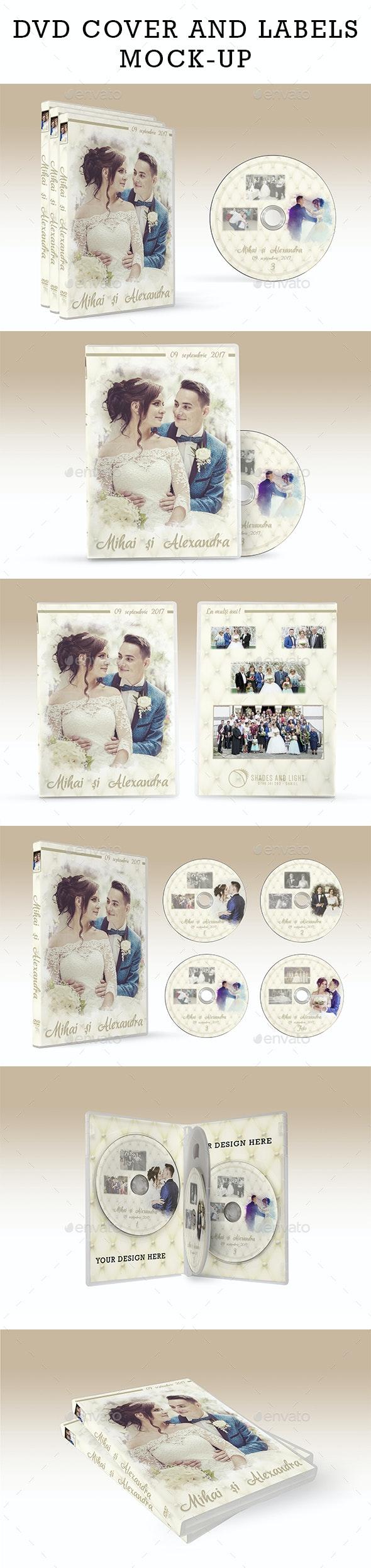 Dvd Case Mock-up - Miscellaneous Print