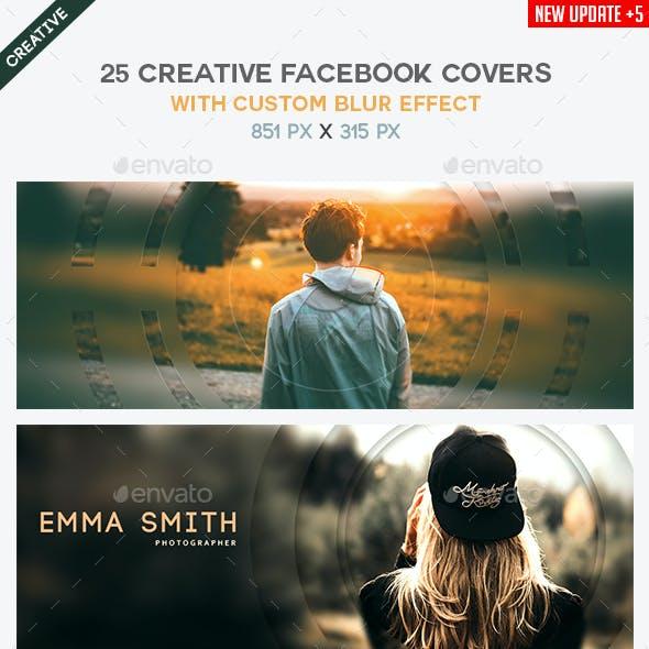 25 Creative Blurry Facebook Covers