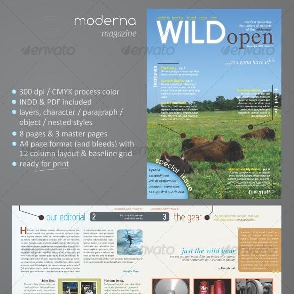Moderna Magazine