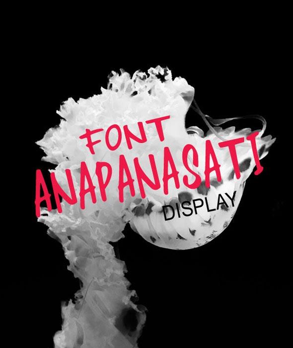 Anapanasati - Handwriting Fonts