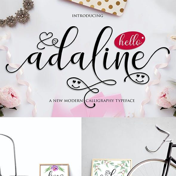 Adaline Script