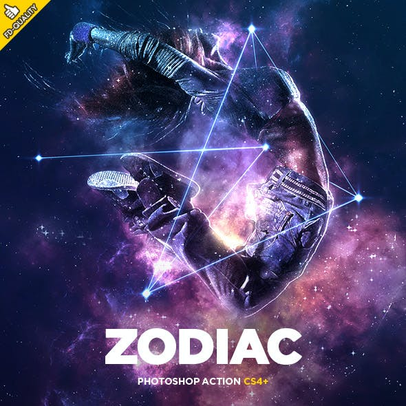 Zodiac CS4+ Photoshop Action