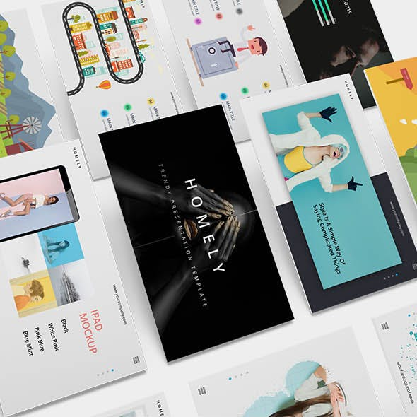 Homely Minimal Powerpoint Template