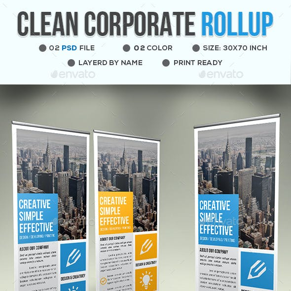Clean and Roll-up Stationery and Design Templates (Page 15)