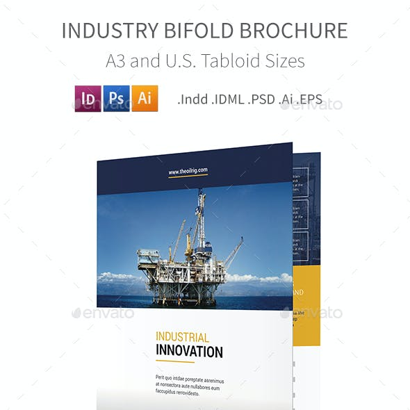 Industry Bifold / Halffold Brochure