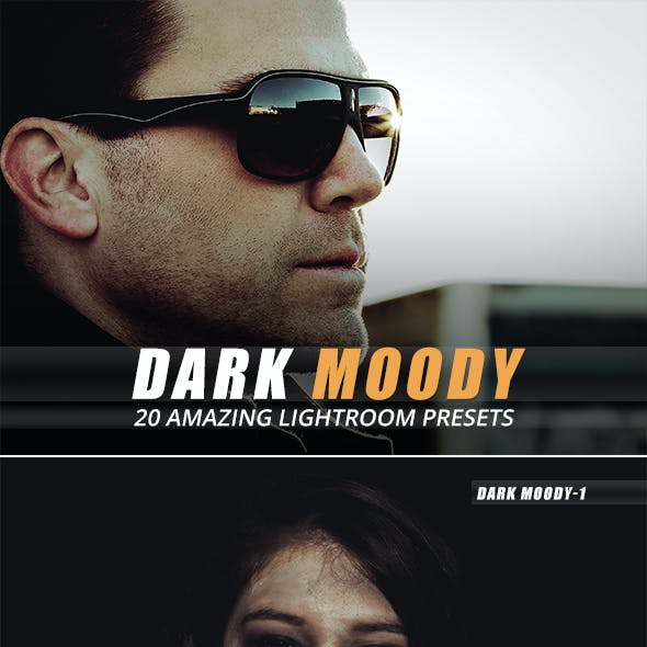 20 Dark Moody Lightroom Presets