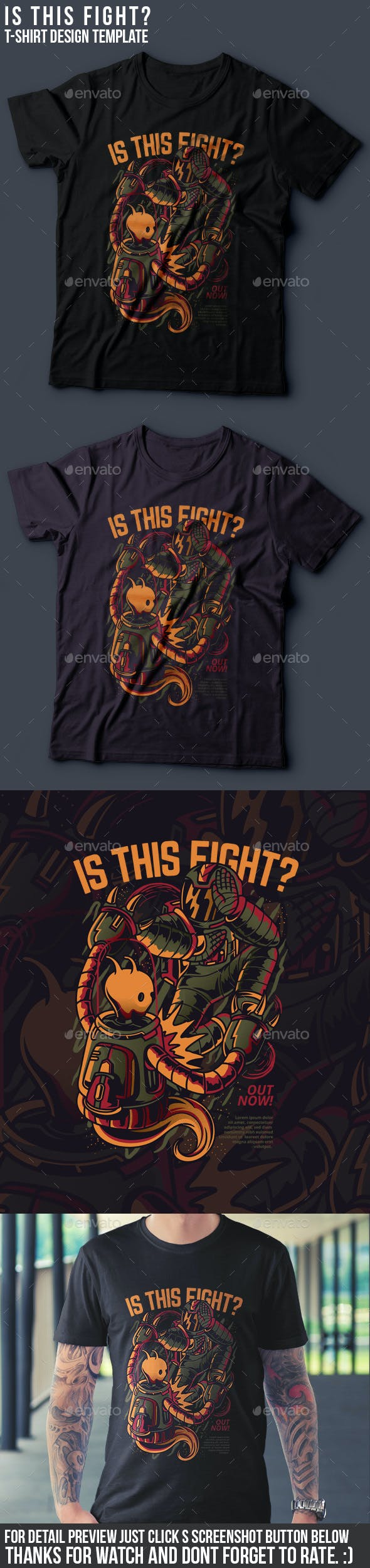 Is This Fight? T-Shirt Design